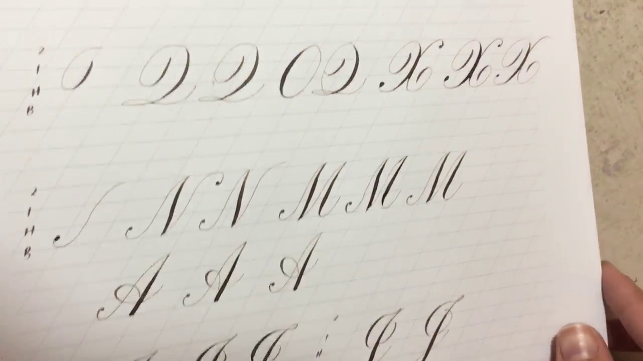 Copperplate Majuscules Parts 4, 5, And 6 tout Majuscule Script