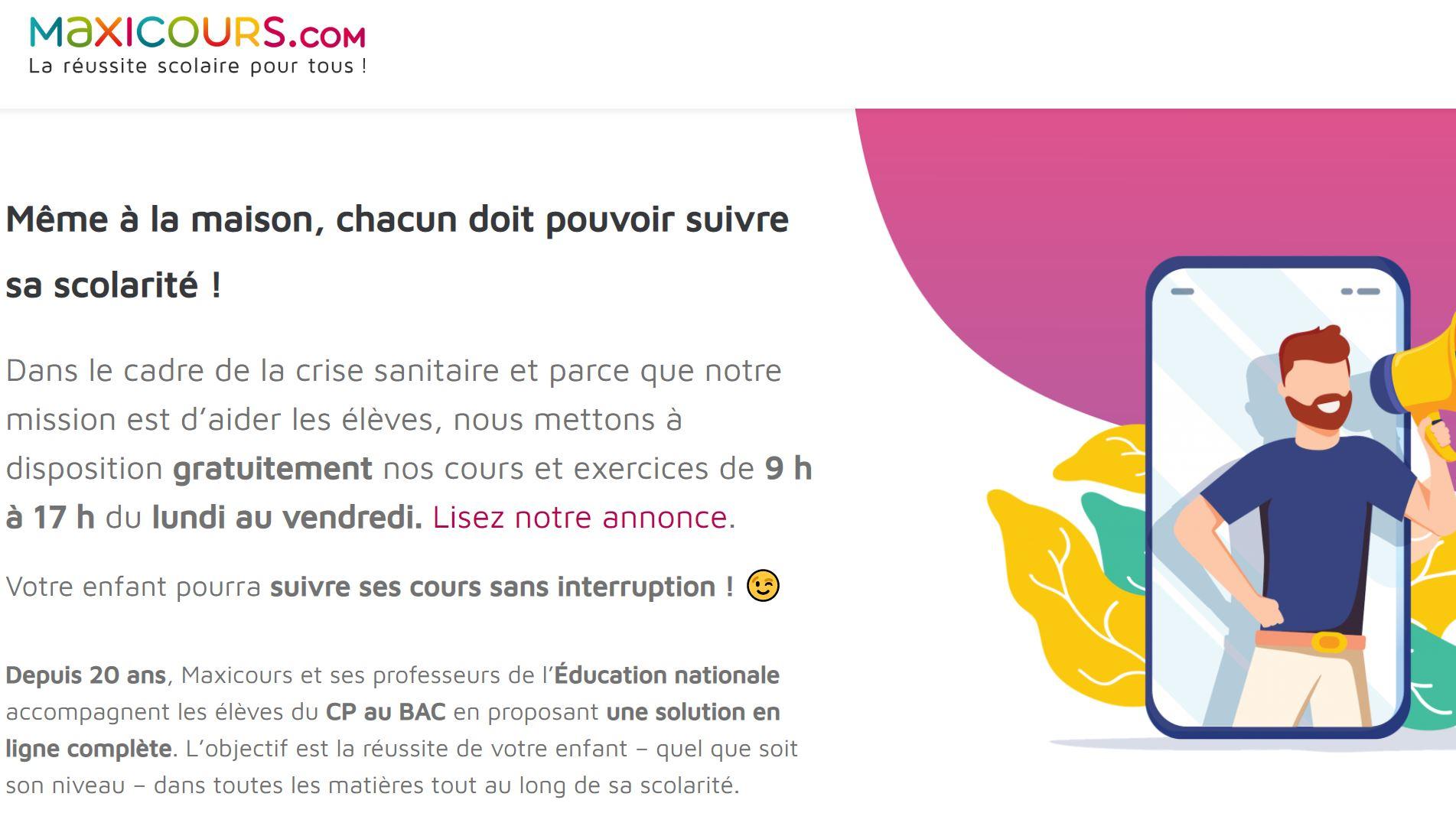 Coronavirus, Des Manuels, Cahiers De Vacances Et Cours concernant Cahier De Vacances En Ligne