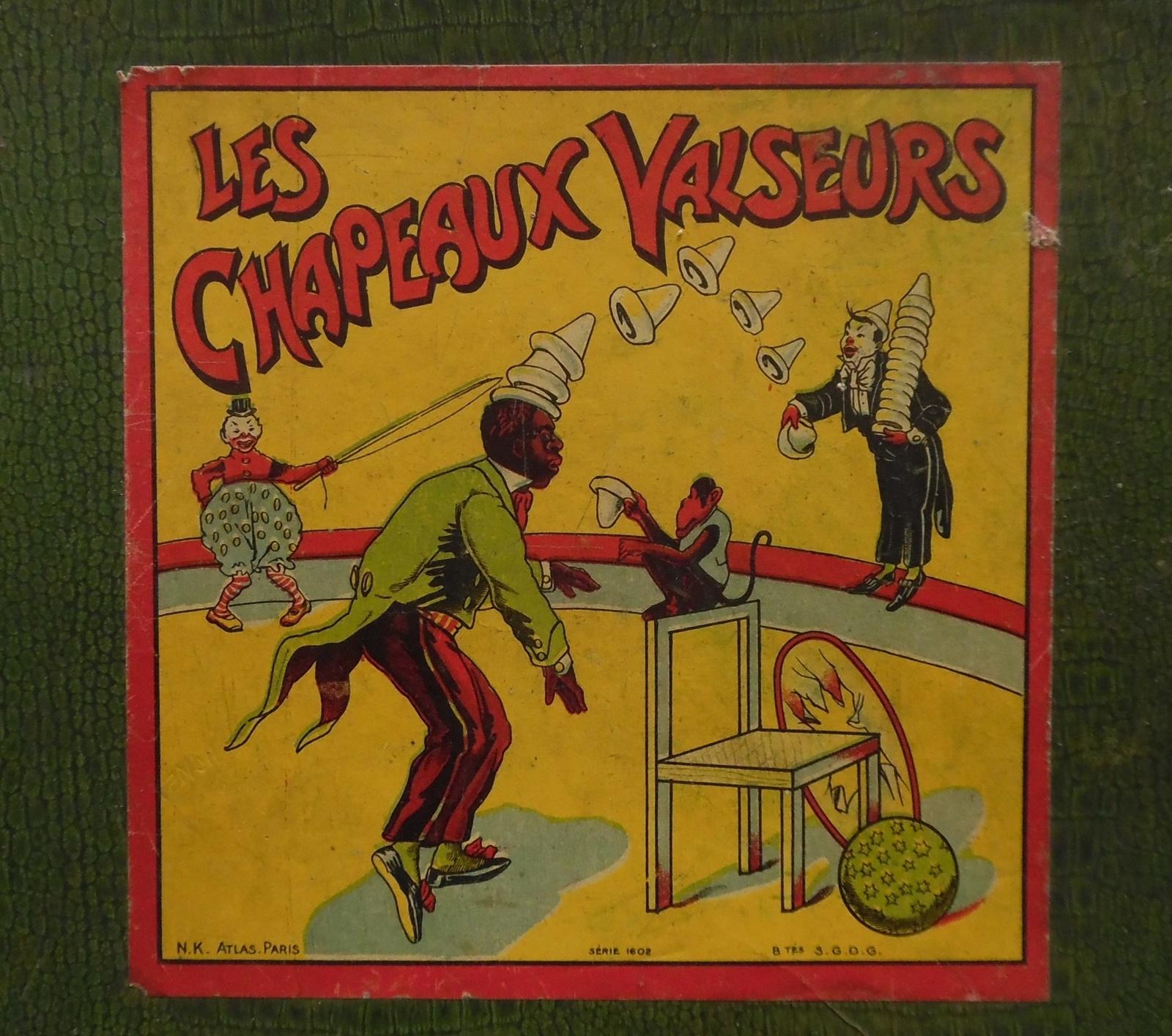 Coup De Chapeau Au Clown Chocolat - Collection De Jeux Anciens tout Jeu Des Chapeaux