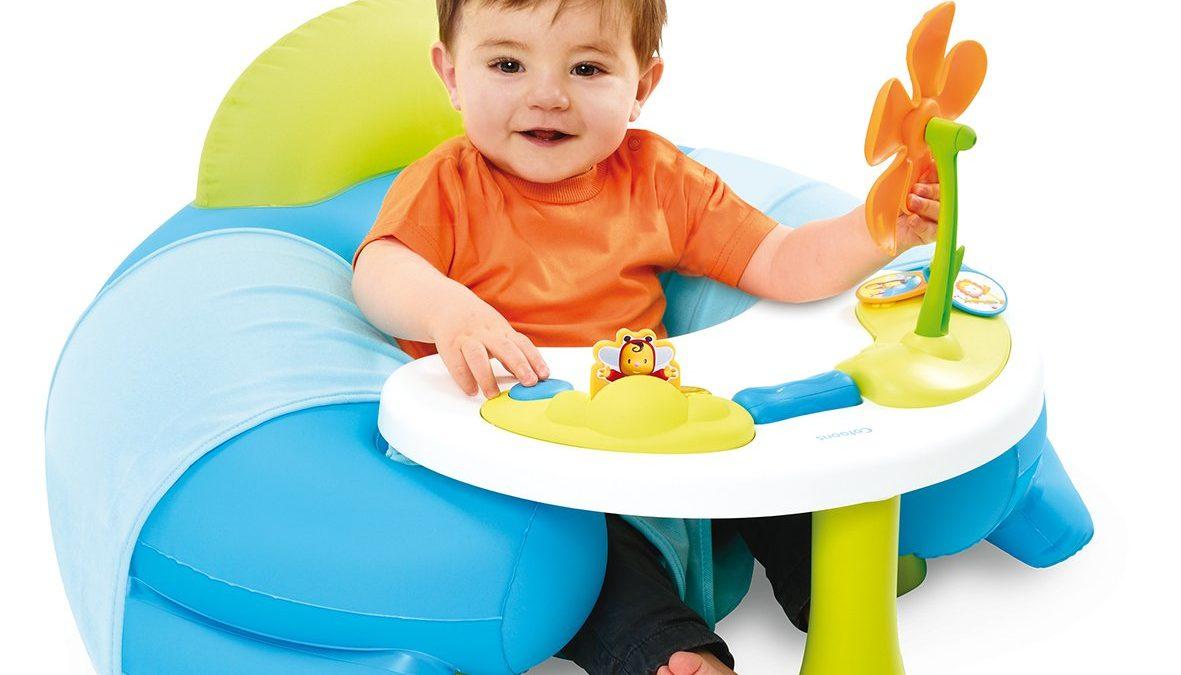 Coussin Détente Pour Bébé De 3 Mois À 18 Mois - Jouer Assis serapportantà Jeux Pour Voiture Bébé