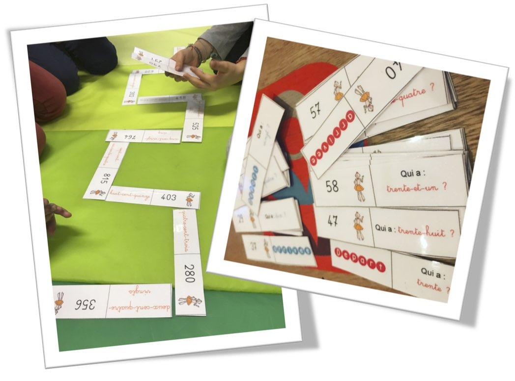 Cp Ce1 Dominos Numération Les Nombres De 0 À 999 En Lettres tout Apprendre Les Chiffres En Lettres Cp