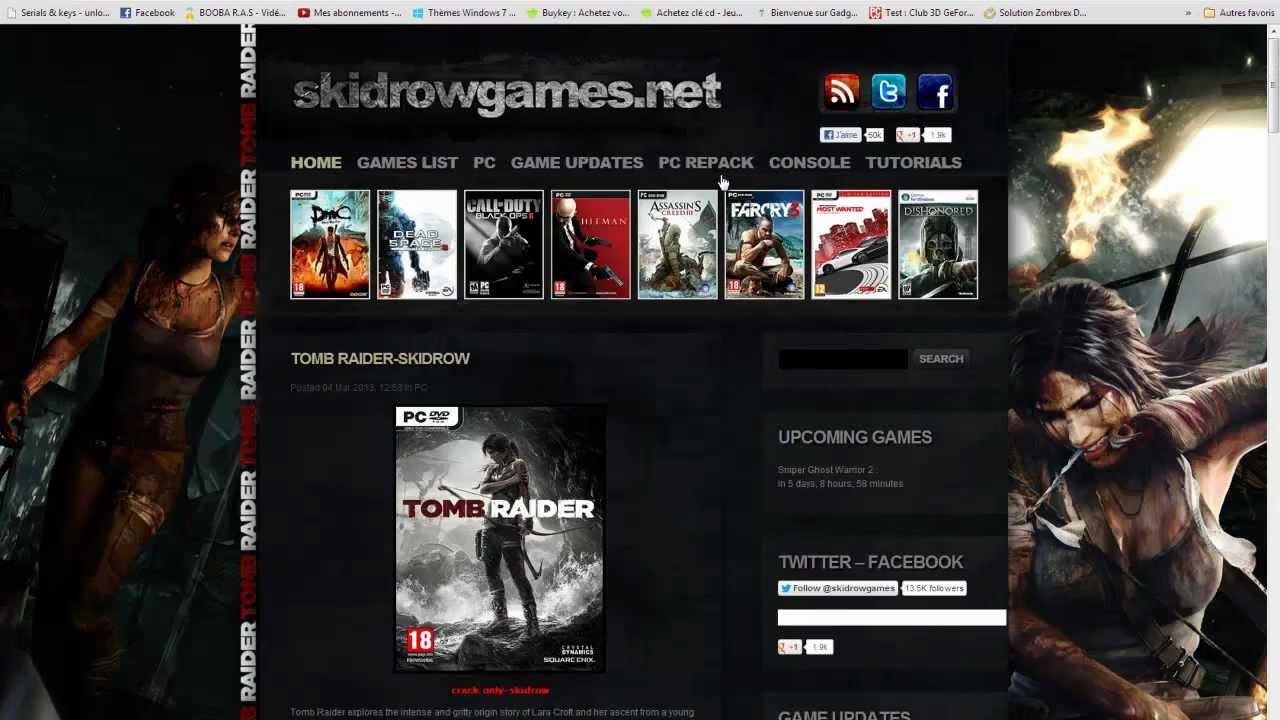Crack De Jeux Pc | Les Meilleurs Sites (Skidrow & Black Box encequiconcerne Jeux Pour Telecharger Sur Pc