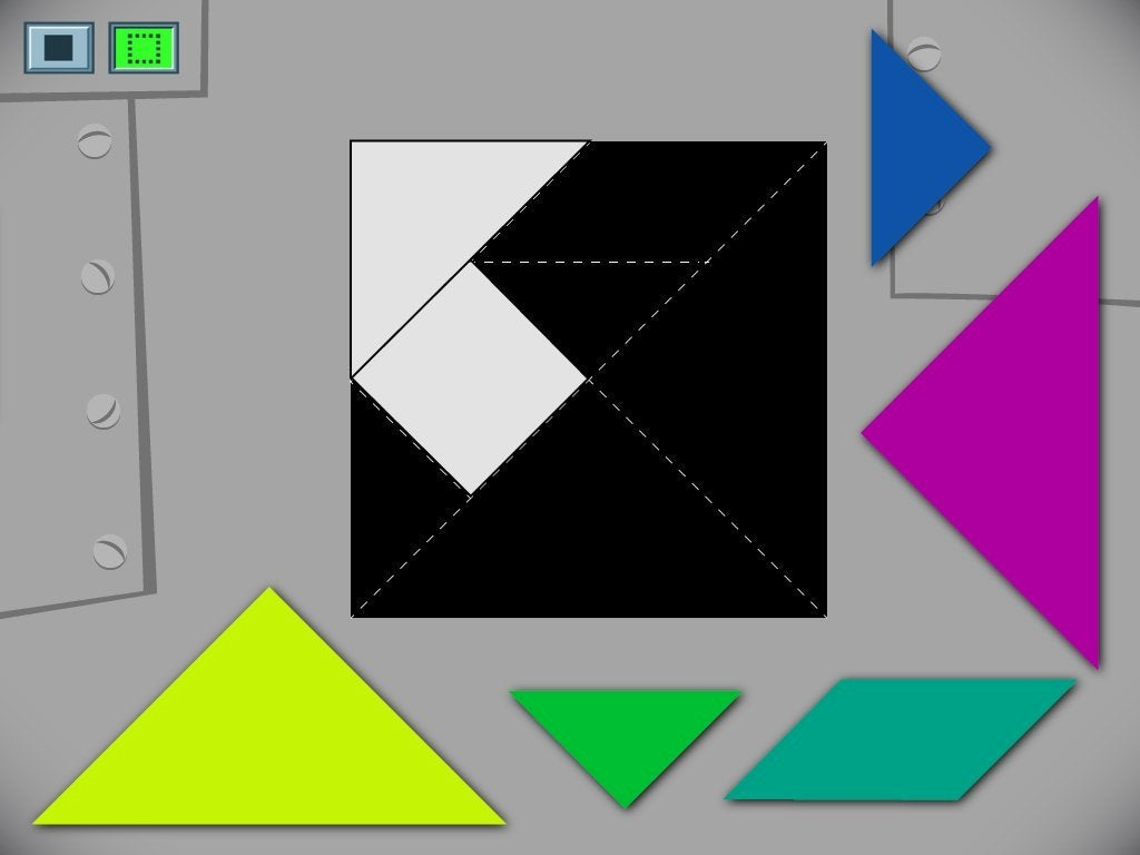 Create A Square Tangram Game | Game | Education pour Progression Tangram
