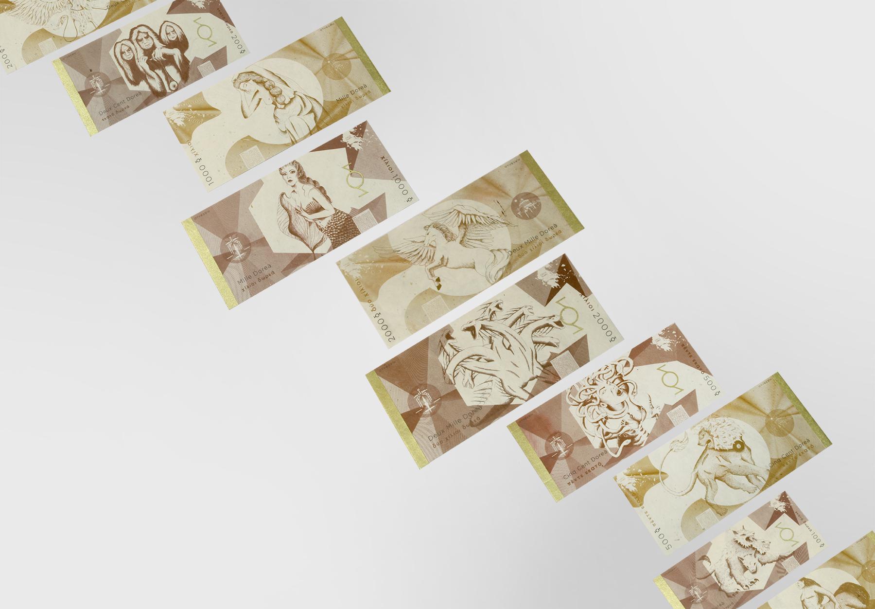 Création D'une Monnaie Fictive Des Dieux Grecs - Lise Tuillier avec Monnaie Fictive