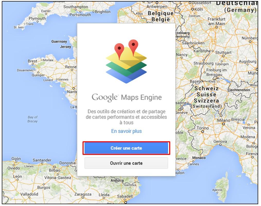 Créer Une Carte Google Maps À Partir D'une Liste D'adresses pour Placer Des Villes Sur Une Carte
