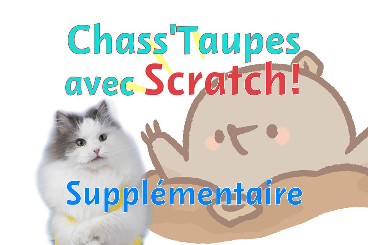 Créons Un Jeu Avec Scratch! - Chass'taupes (Supplémre intérieur Jeu Chasse Taupe