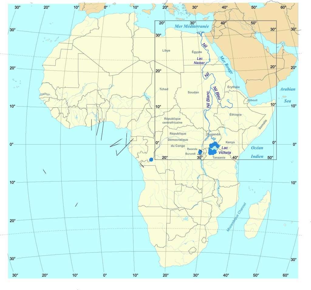 Croisière Sur Le Nil En Égypte : 6 Lieux À Visiter intérieur Carte Des Fleuves