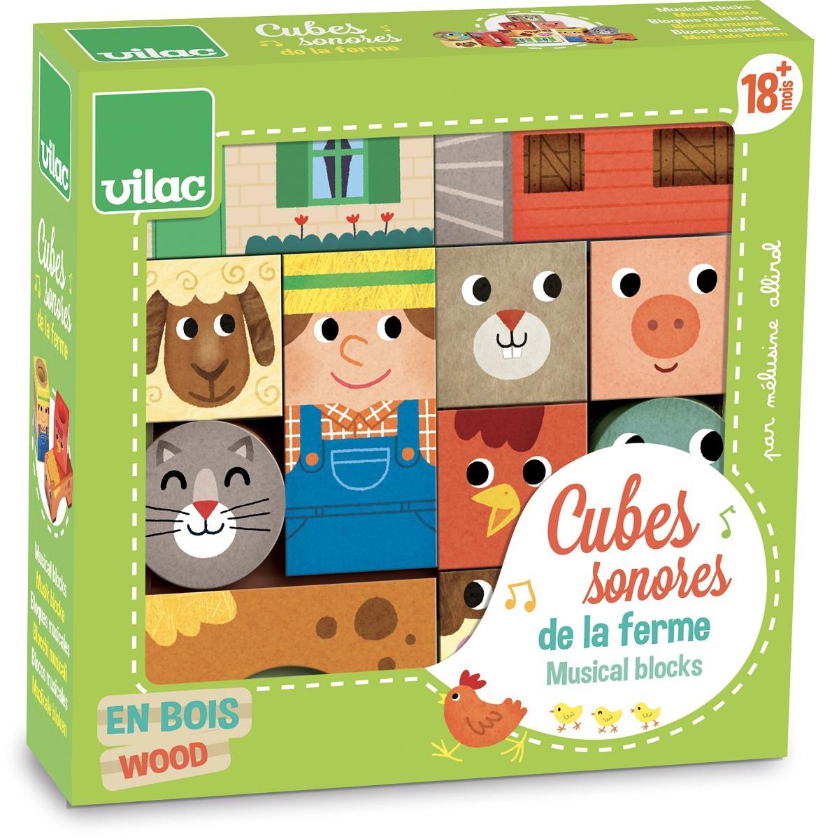 Cubes Sonores Animaux De La Ferme serapportantà Bruit Des Animaux De La Ferme