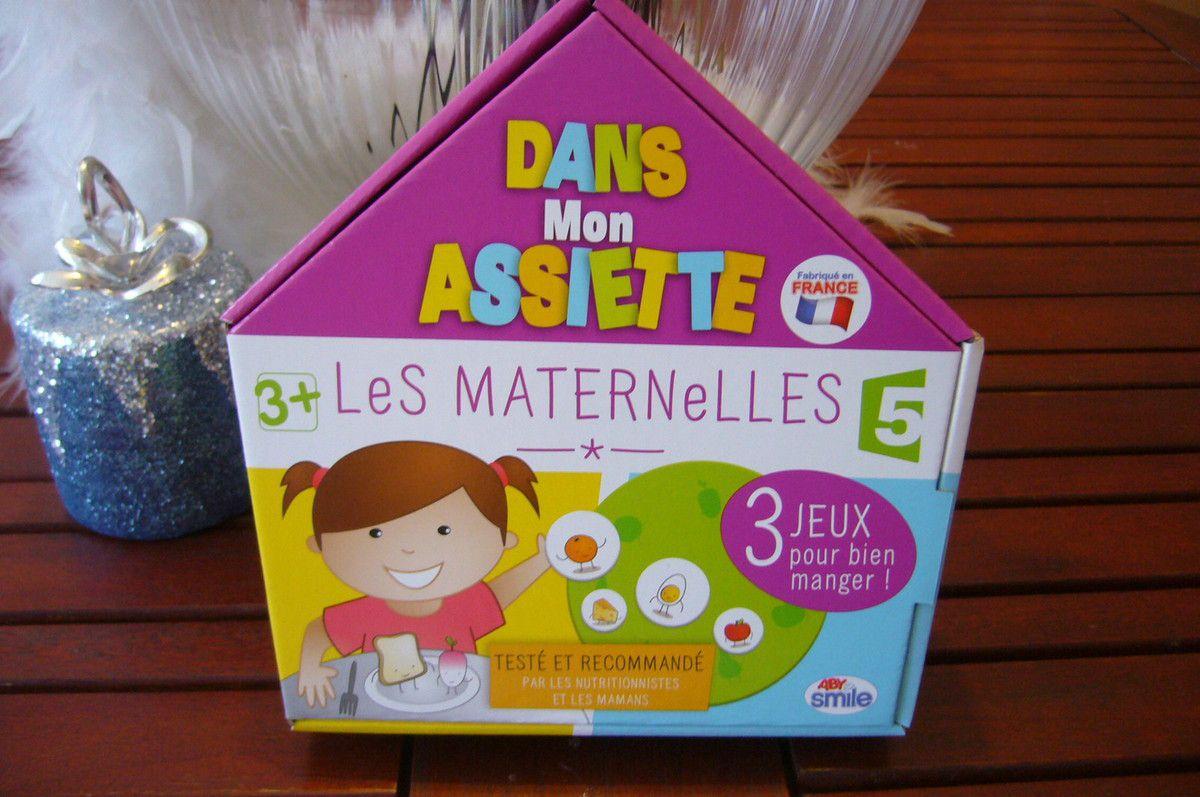 Dans Mon Assiette - Les Maternelles - Abysmile - 3 Jeux Pour concernant Jeux À Manger