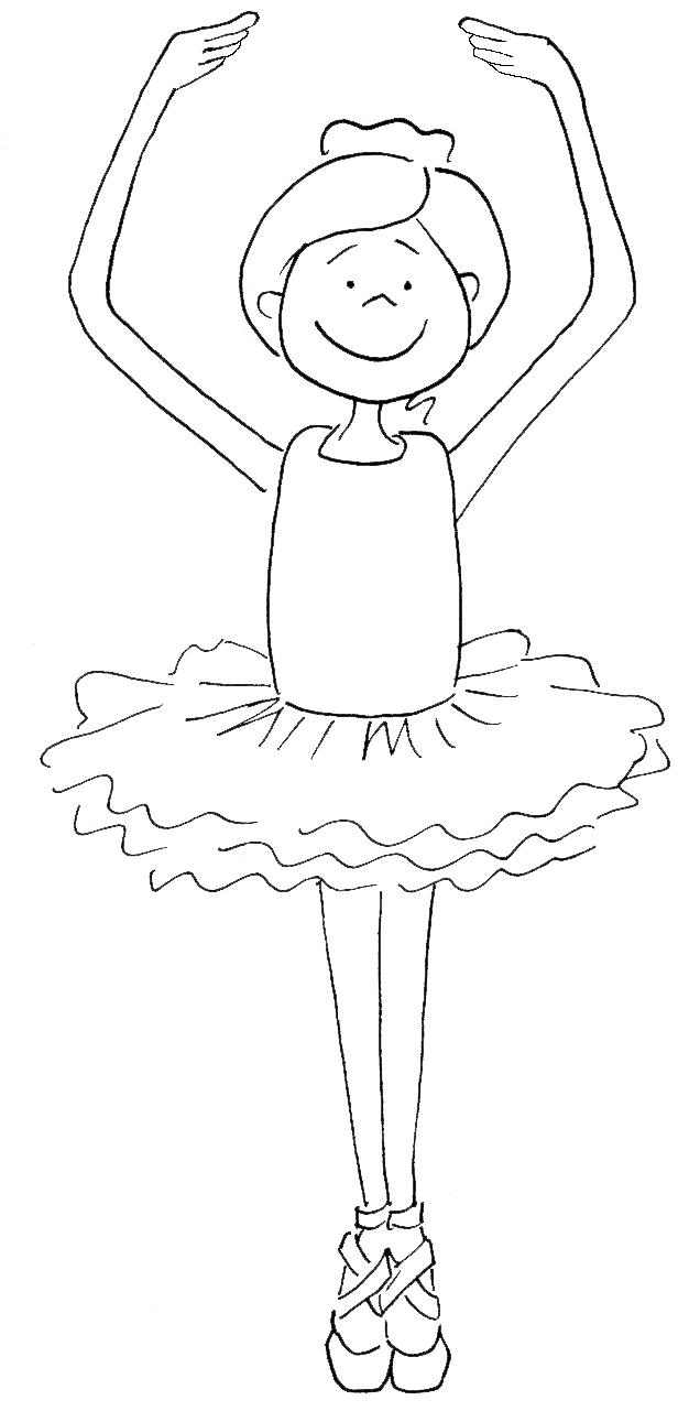 Danseur / Danseuse #52 (Métiers Et Professions) – Coloriages à Dessin De Danseuse A Imprimer