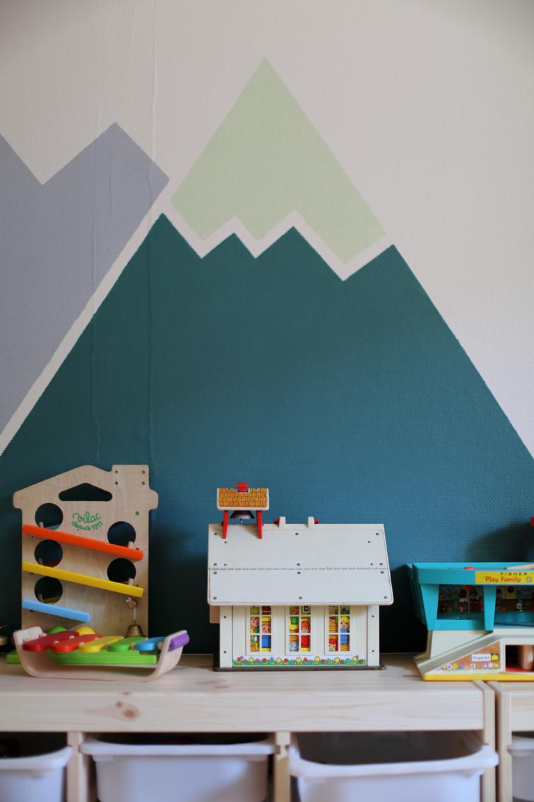 Déco – Aménager Une Salle De Jeux – Le Blog Mode De tout Jeux De Peinture Pour Fille