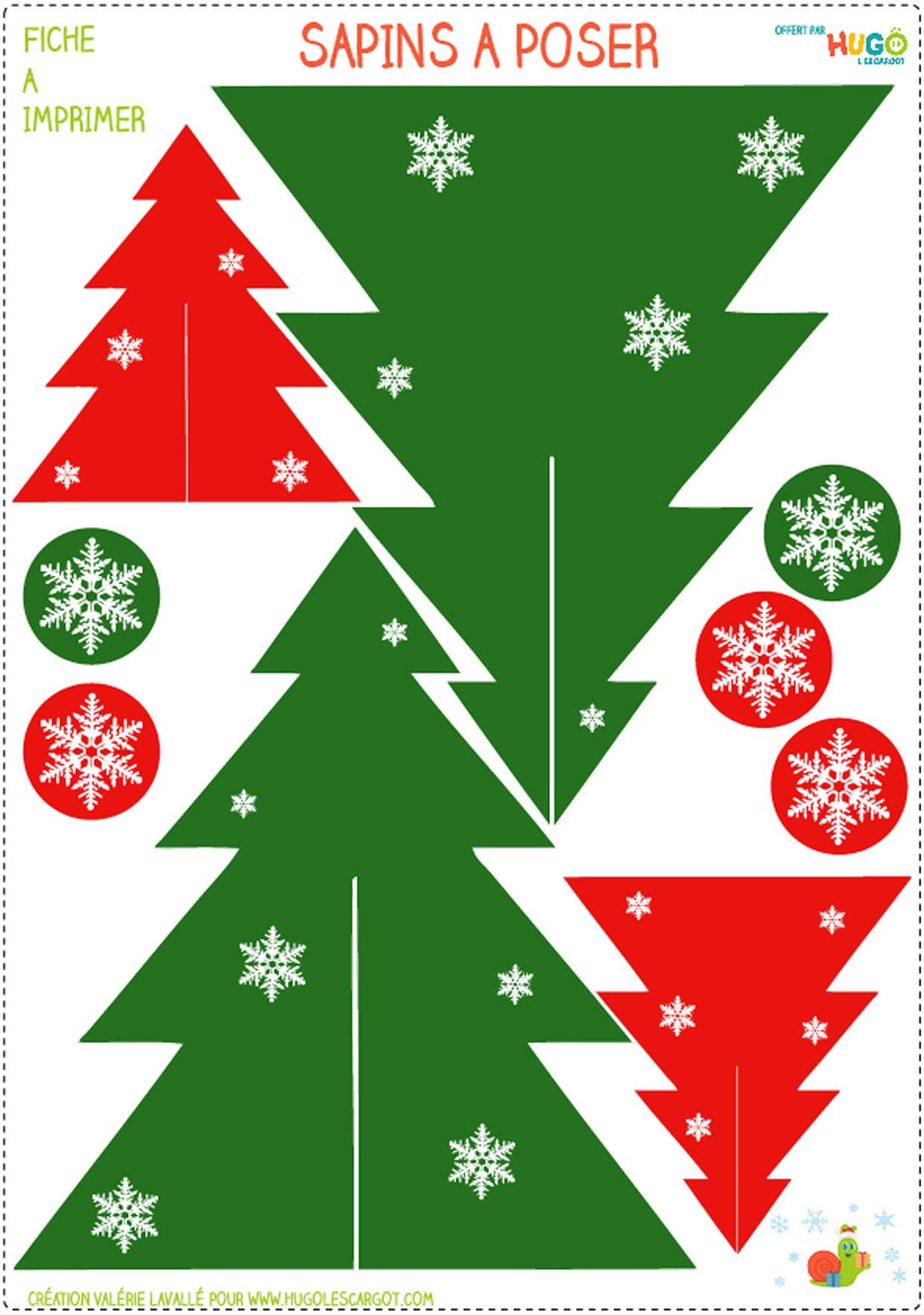 Décoration De Table De Noël À Imprimer avec Décorations De Noel À Imprimer