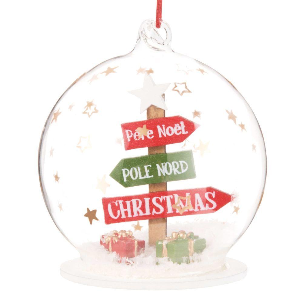 Décorations De Noël | Boules De Noël En Verre, Decoration destiné Fleche Pour Sapin De Noel