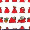 Décorations De Noël Motif Transparent Sacs Cadeaux Avec Des à Décorations De Noel À Imprimer