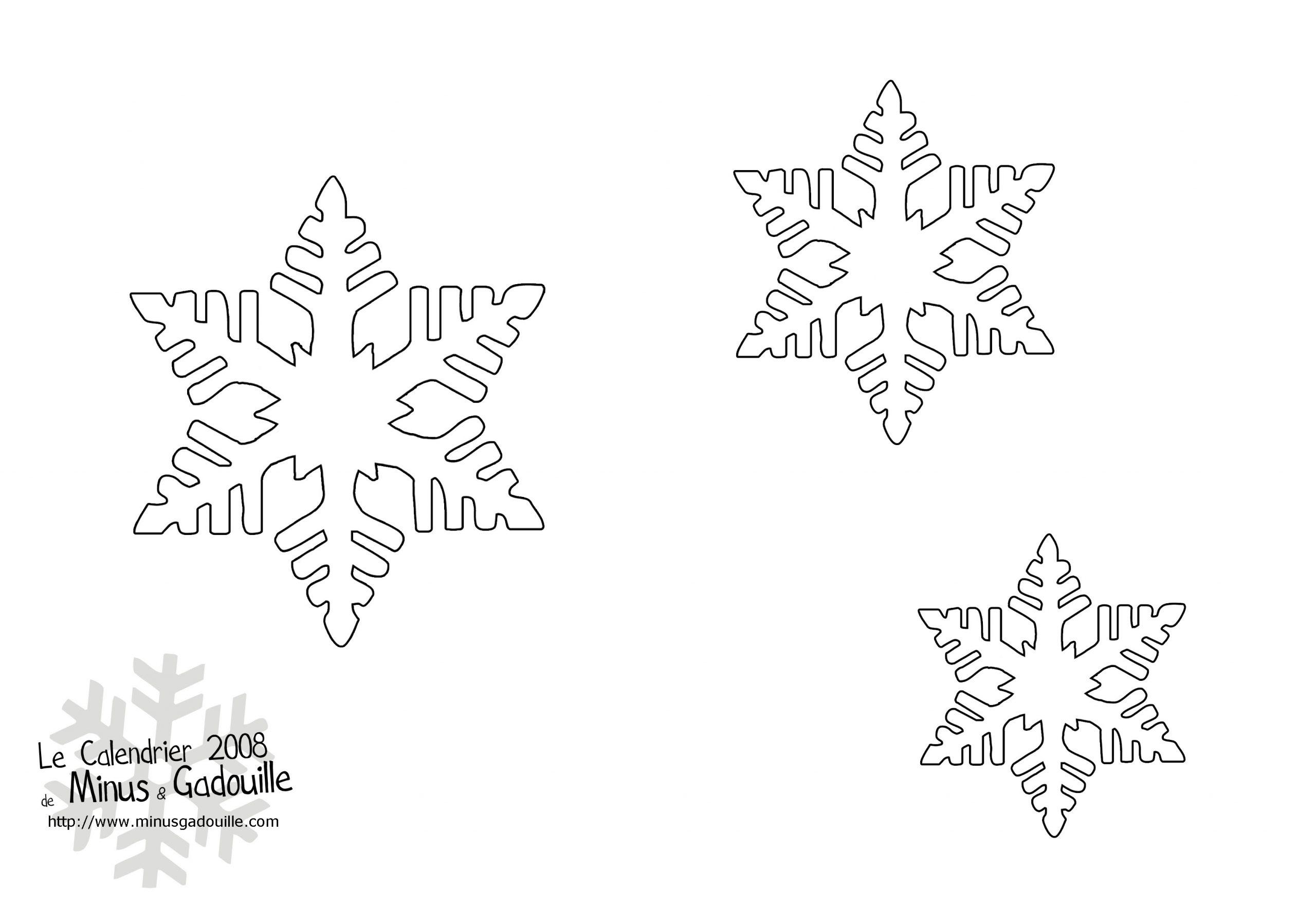 Découpages Snow Flakes Stencils For Diy Chrismas Decor pour Décorations De Noel À Imprimer