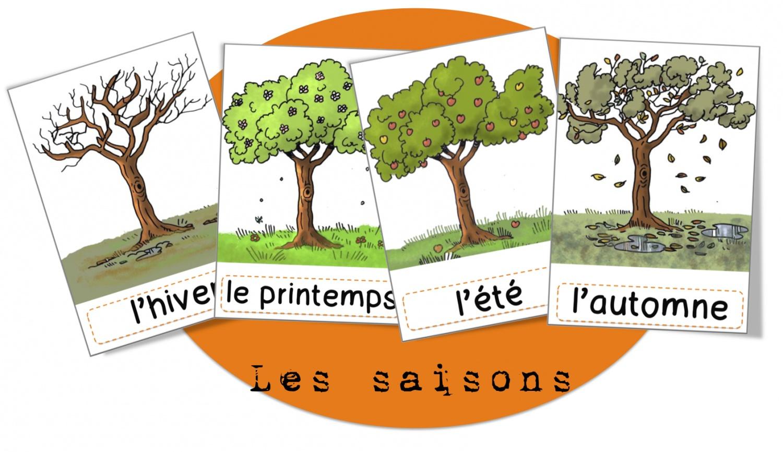 Découverte Du Monde: Les Saisons | Bout De Gomme concernant Apprendre Les Saisons En Maternelle