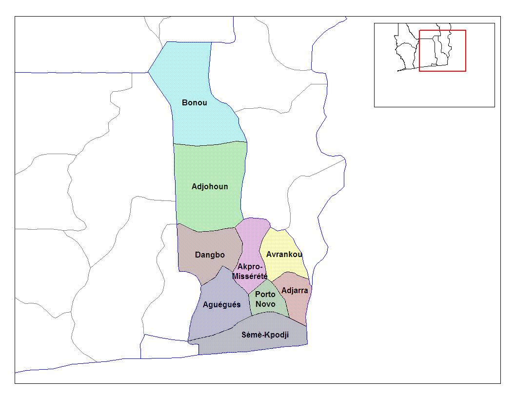 Département De L'ouémé | Ambassade Et Mission Permanente Du pour Departement Et Chef Lieu
