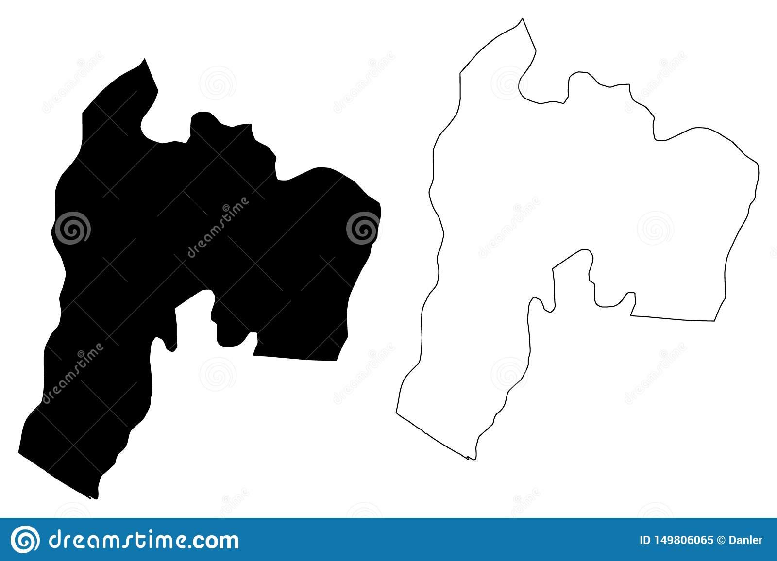 Département République Du Guatemala, Départements De à Puzzle Departement