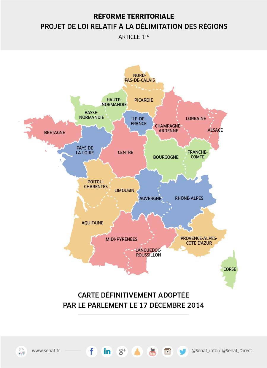 Dernier Congrès D'un Territoire A 22 Facettes Pour L serapportantà Carte Des 22 Régions