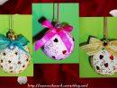 Des Boules De Noël Réalisées Par Axelle intérieur Activité De Noel Maternelle