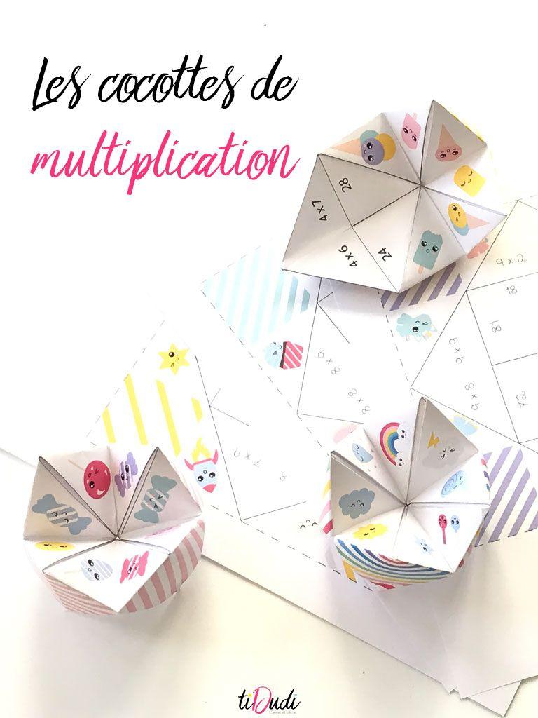 Des Cocottes Pour Apprendre Les Tables De Multiplication intérieur Apprendre La Table De Multiplication En Jouant