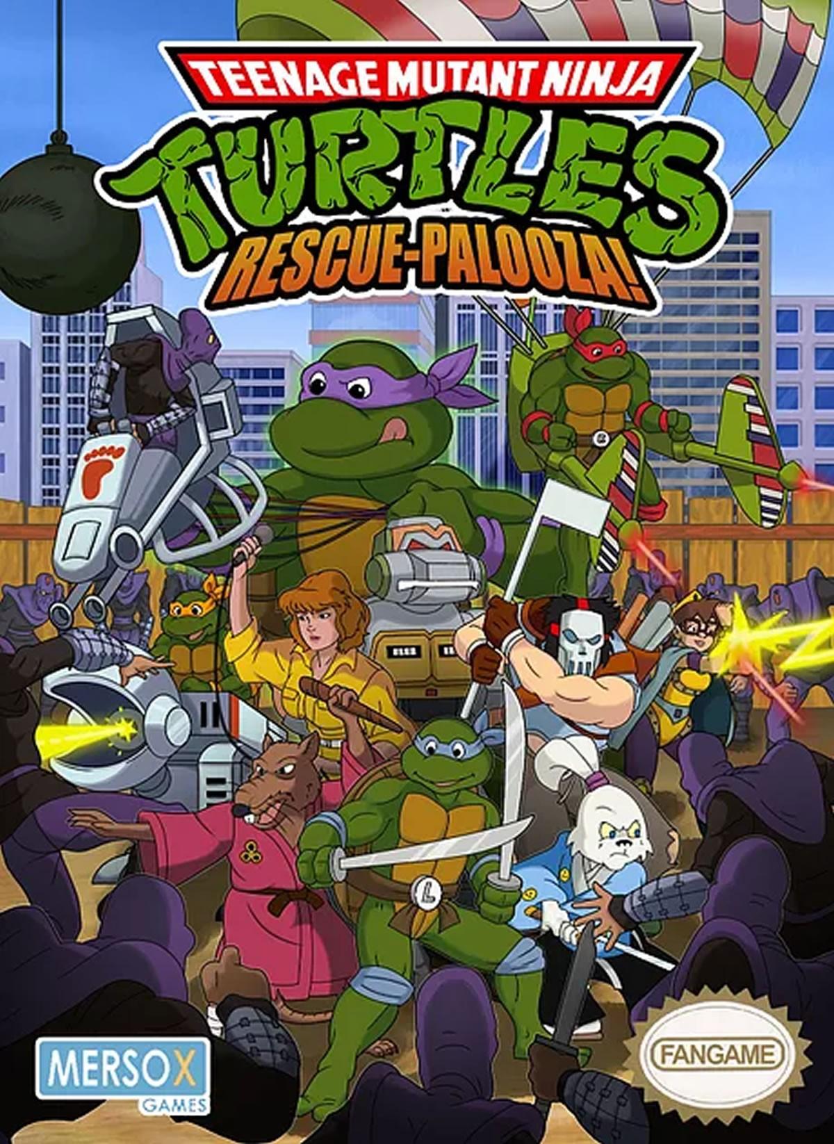 Des Fans Sortent Un Jeu Teenage Mutant Ninja Turtles Rescue serapportantà Jeux De Tortue Gratuit