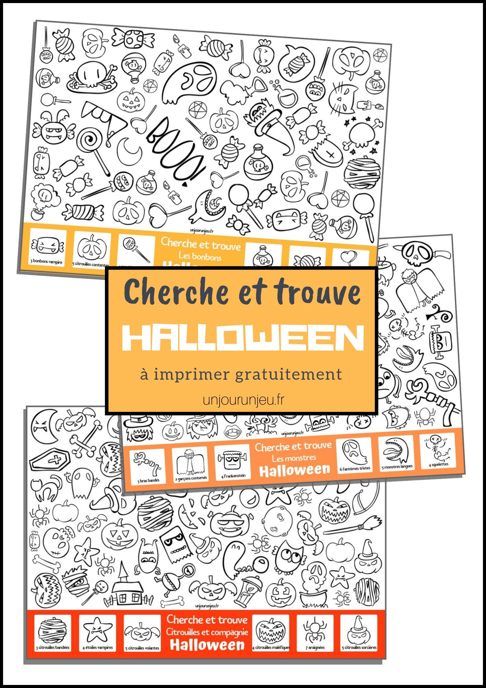 Des Jeux À Imprimer Pour Halloween | Jeux A Imprimer dedans Jeux D Halloween Gratuit