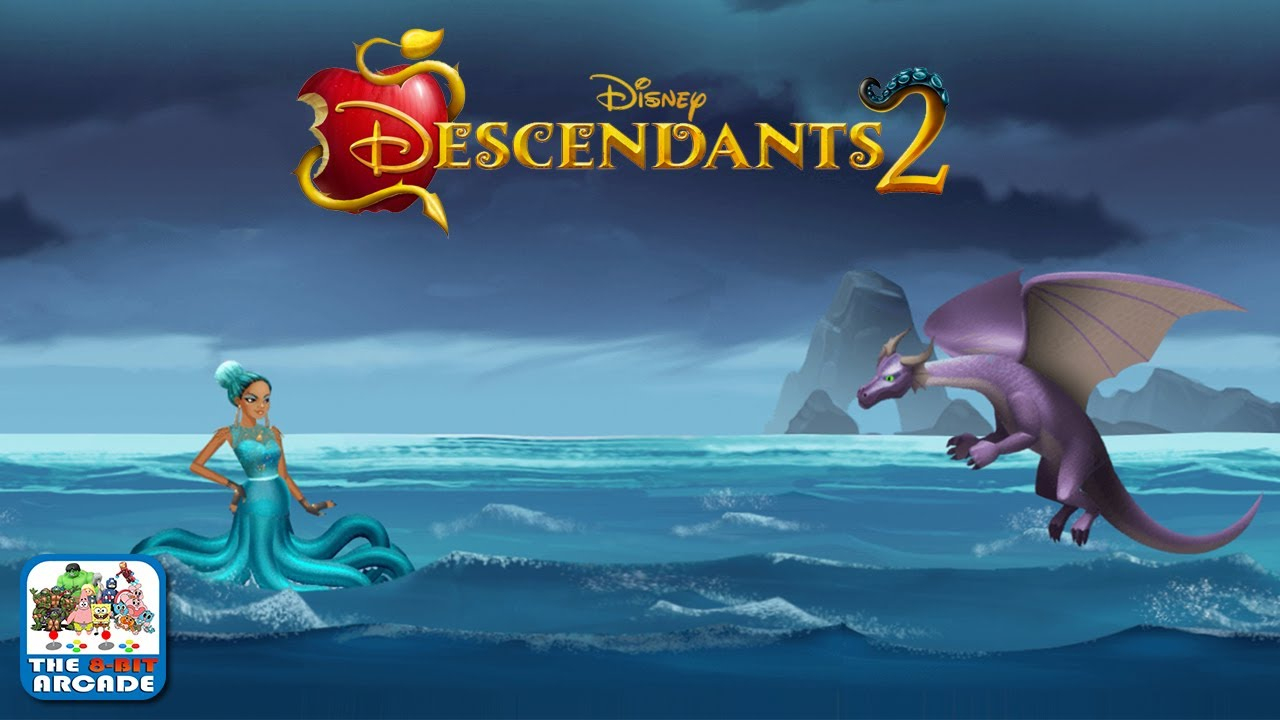 Descendants 2: Mal Vs Uma - As New Leader Of The Isle, Uma Wants Revenge  (Disney Games) pour Jeux De Descendants