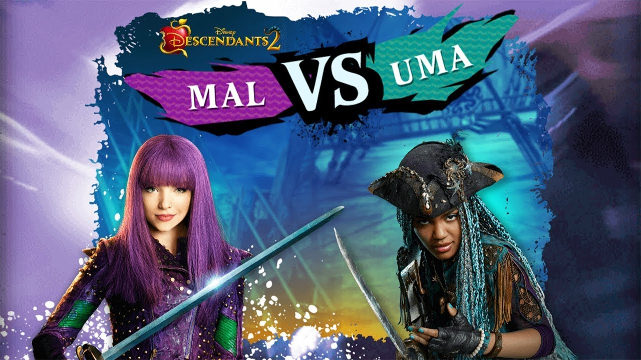 Descendants 2: Mal Vs Uma - Disney Games tout Jeux De Descendants
