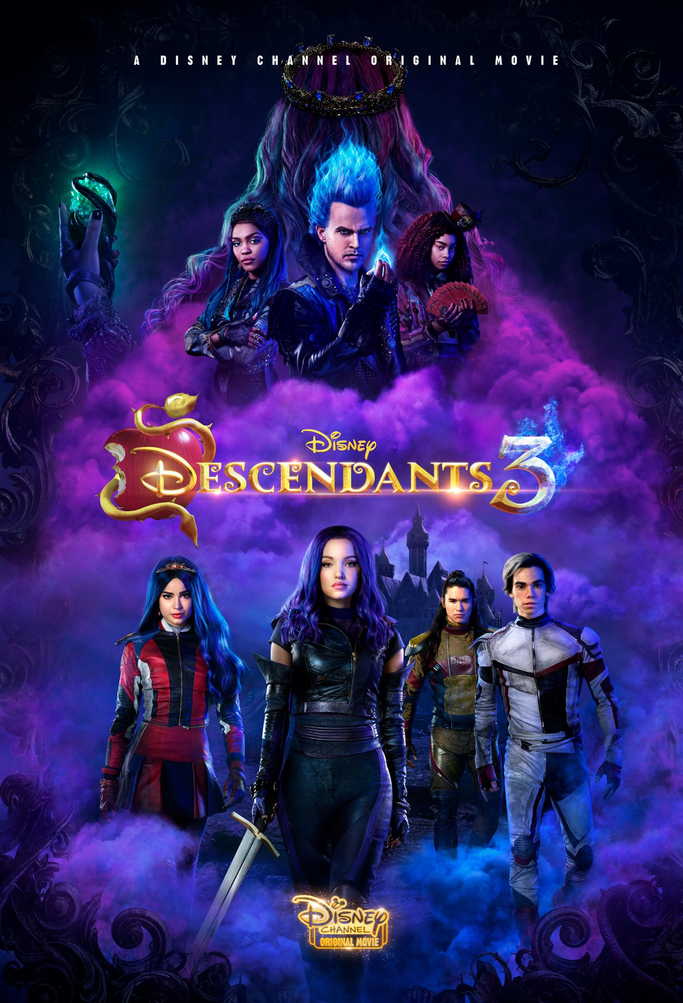 Descendants 3. avec Jeux De Descendants