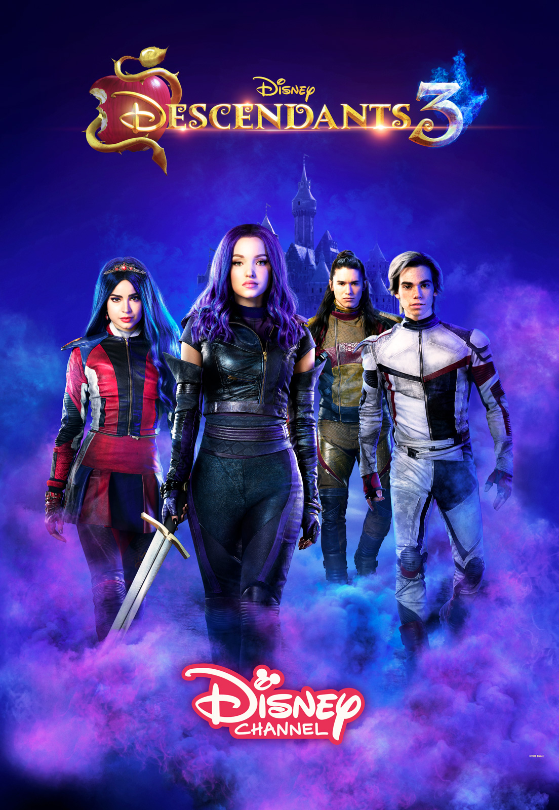 Descendants 3 - Film 2019 - Allociné tout Jeux De Descendants