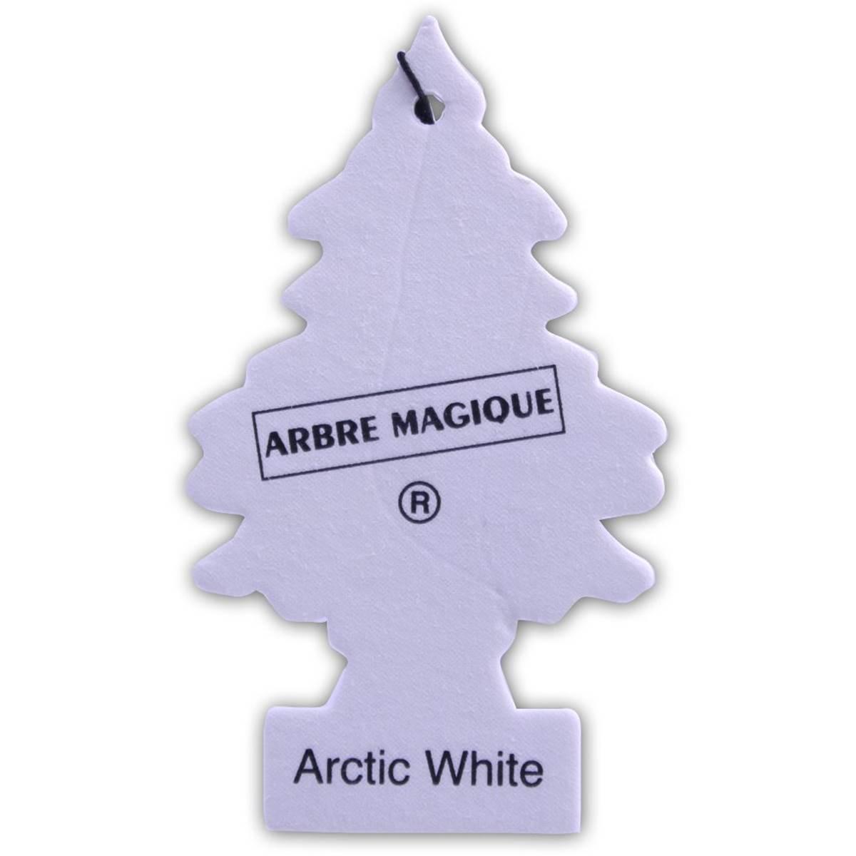 Désodorisant Arbre Magique Senteur Artic White intérieur Arbre Magique Voiture Personnalisé