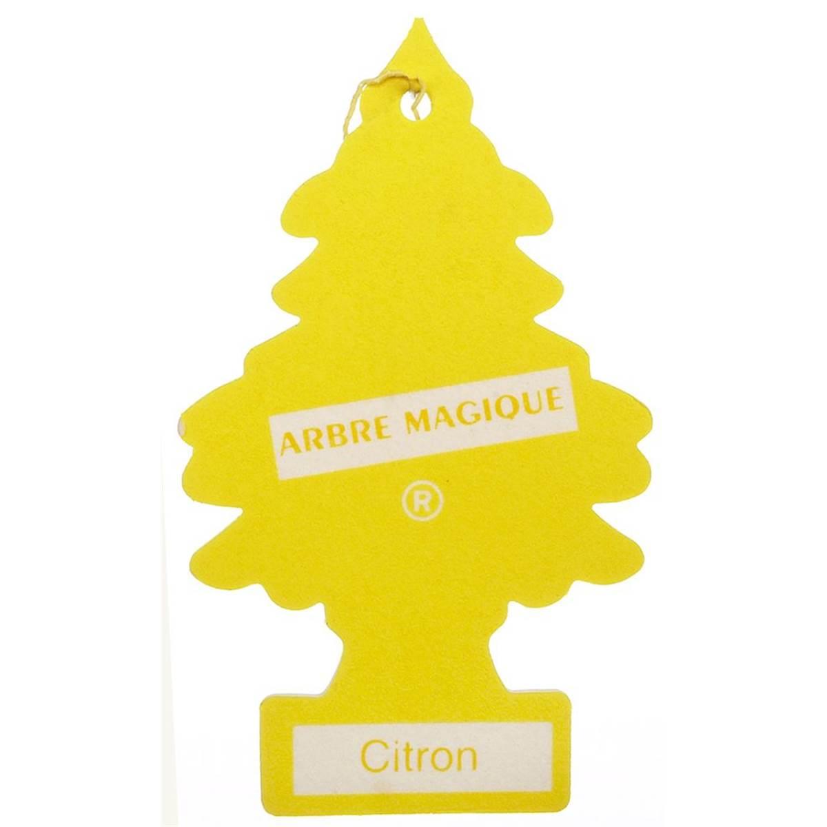 Désodorisant Arbre Magique Senteur Citron pour Arbre Magique Voiture Personnalisé