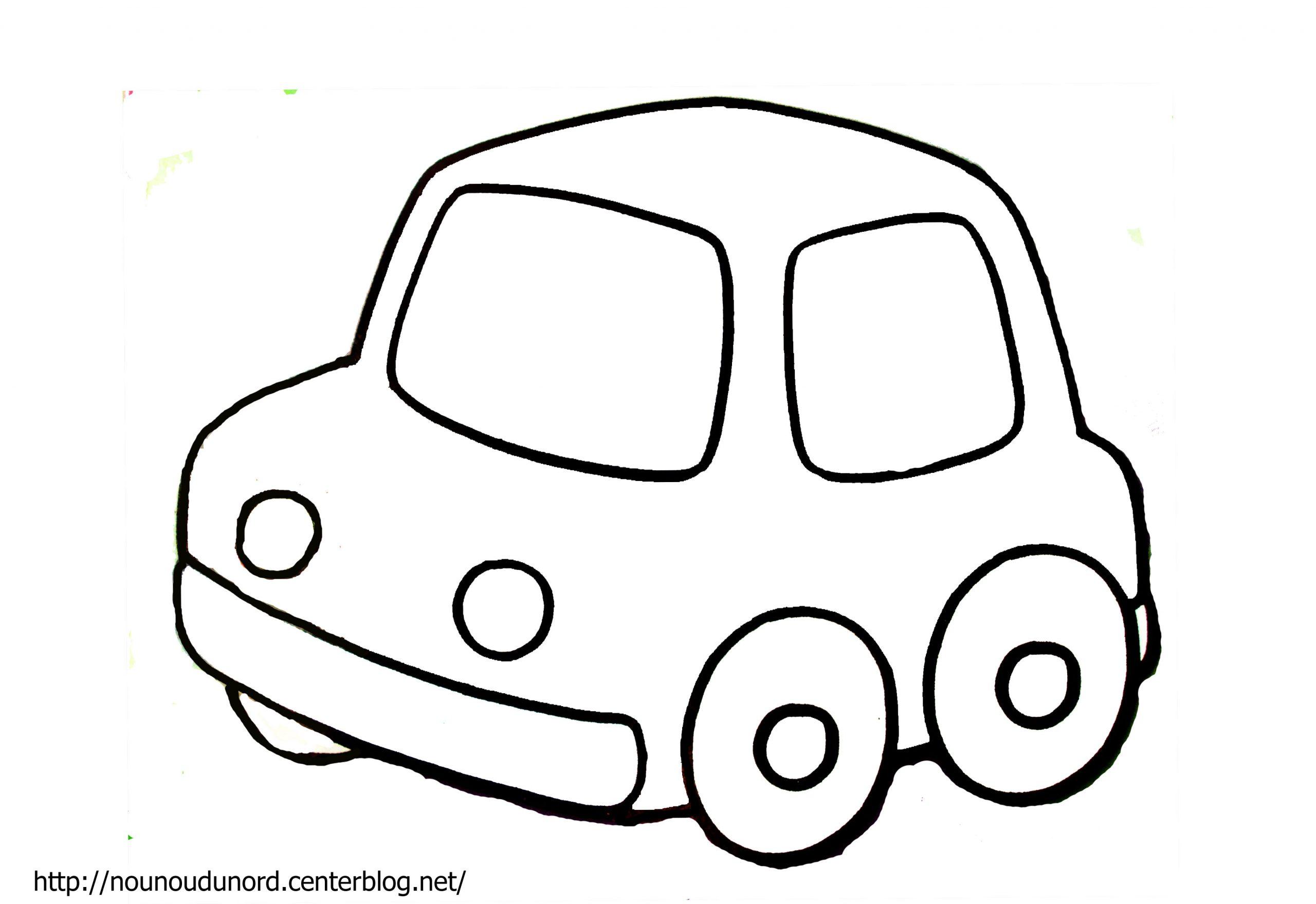 Dessin À Colorier Automobile Course pour Dessiner Une Voiture Facile