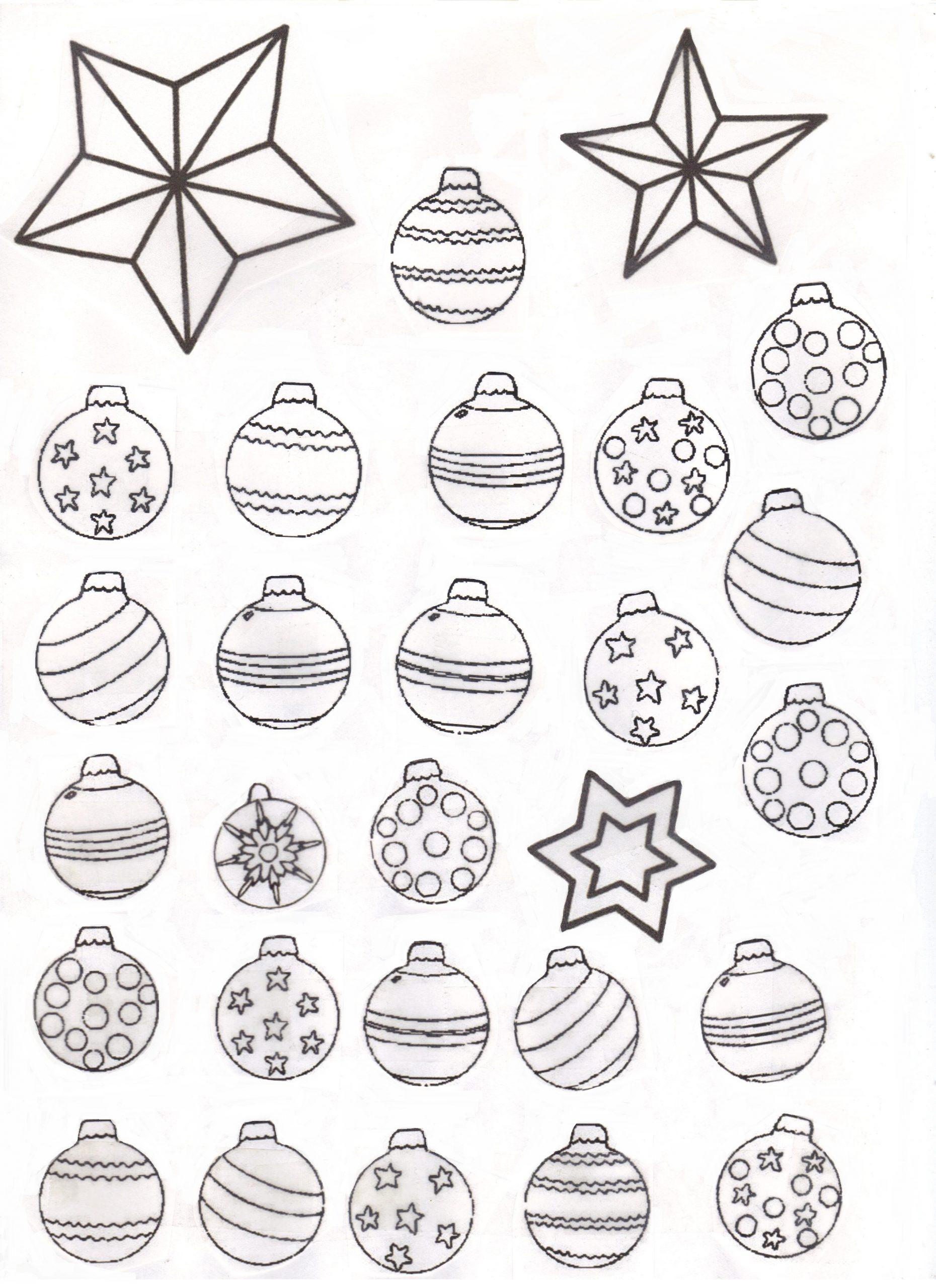 Dessin À Colorier Boule De Noel Gratuit À Imprimer tout Dessin A Colorier De Noel Gratuit A Imprimer