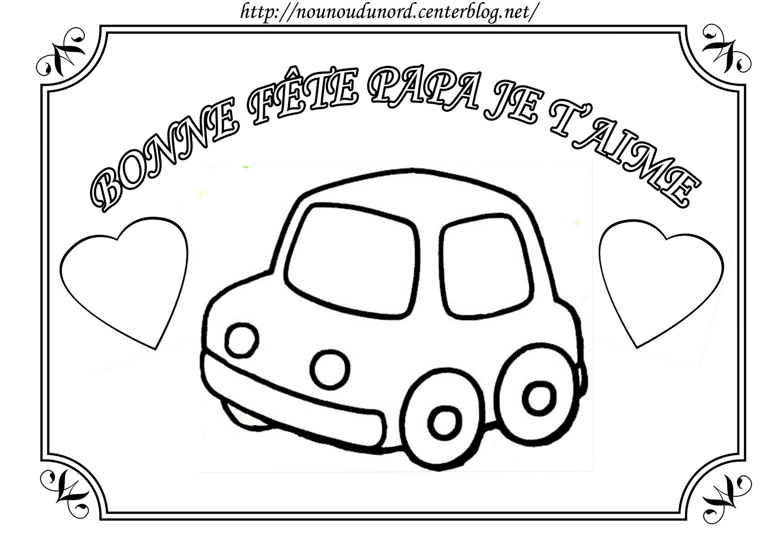 Dessin à Colorier Fete Des Peres Maternelle | Coloriage Fete à Coloriage Fete Des Peres A Imprimer Gratuit