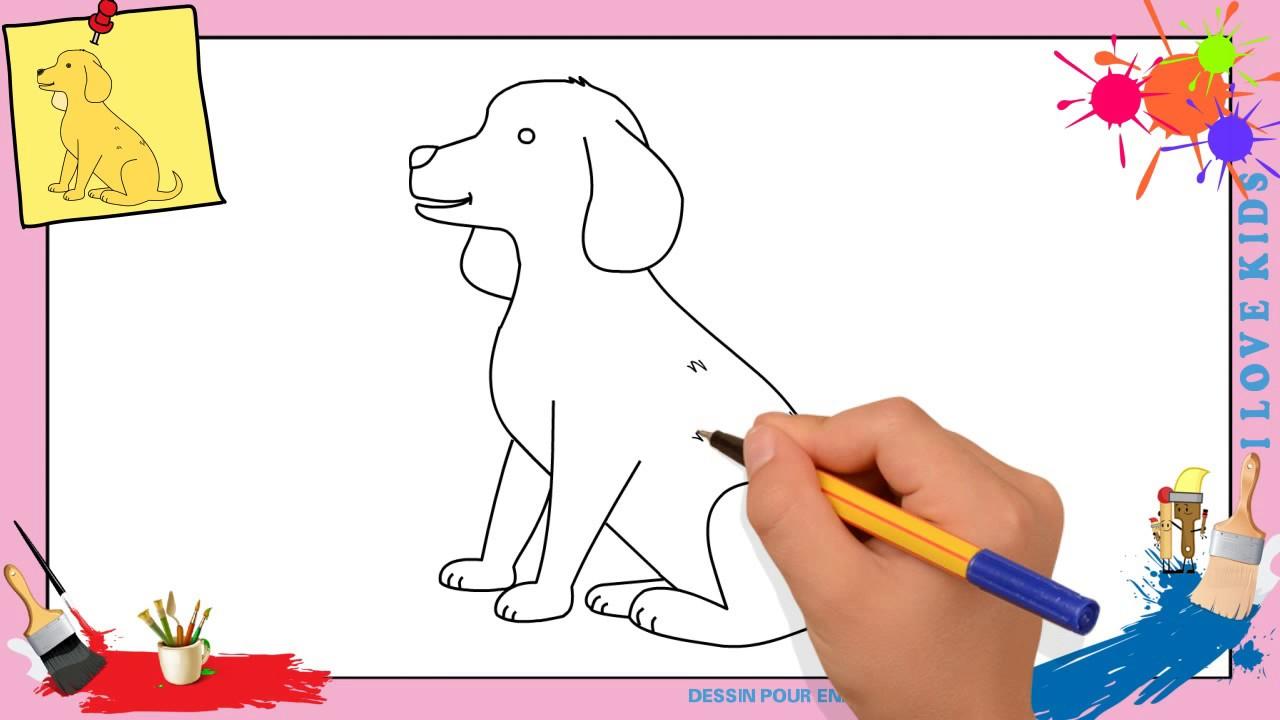 Dessin Chien 3 - Comment Dessiner Un Chien Facilement Etape Par Etape Pour  Enfants encequiconcerne Apprendre A Dessiner Des Animaux Facilement Et Gratuitement