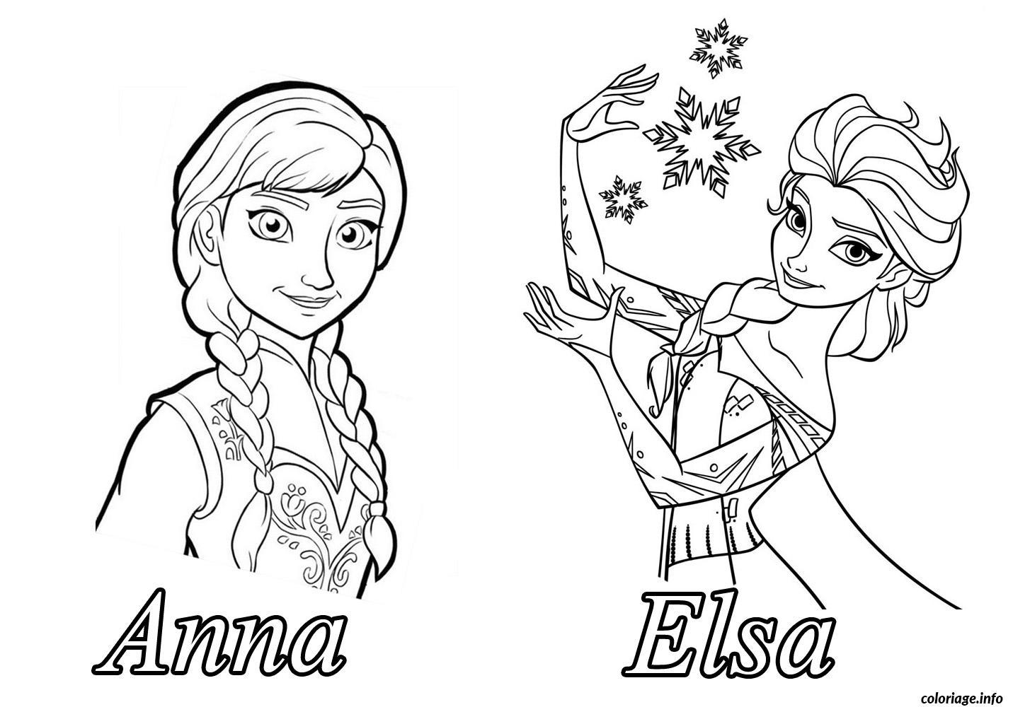 Dessin Coloriage Elsa - Coloriage Ideas pour Reine Des Neiges Dessin À Colorier