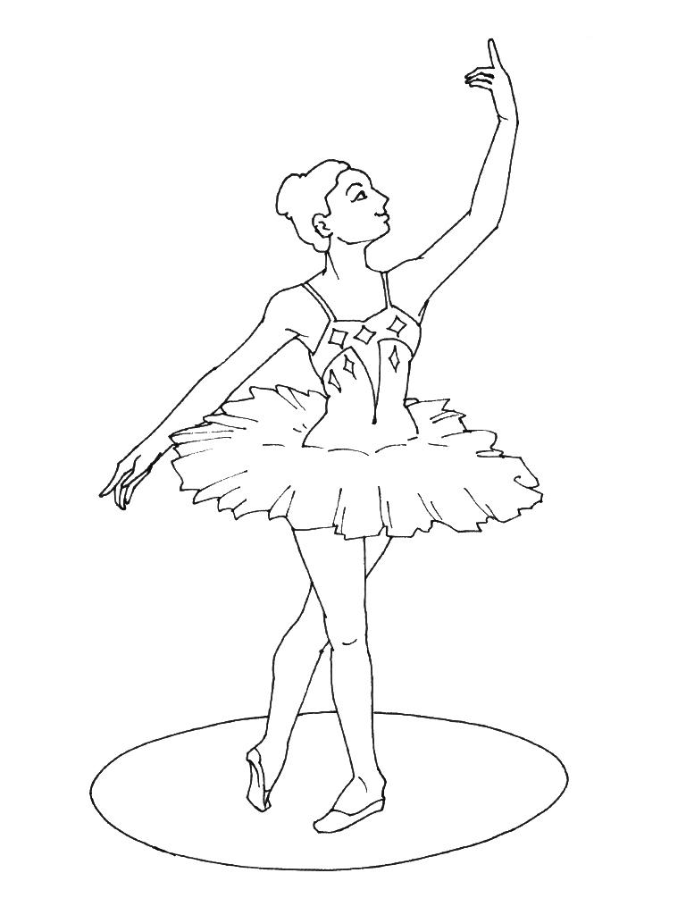 Dessin Colorier Danseuse Orientale pour Dessin De Danseuse A Imprimer