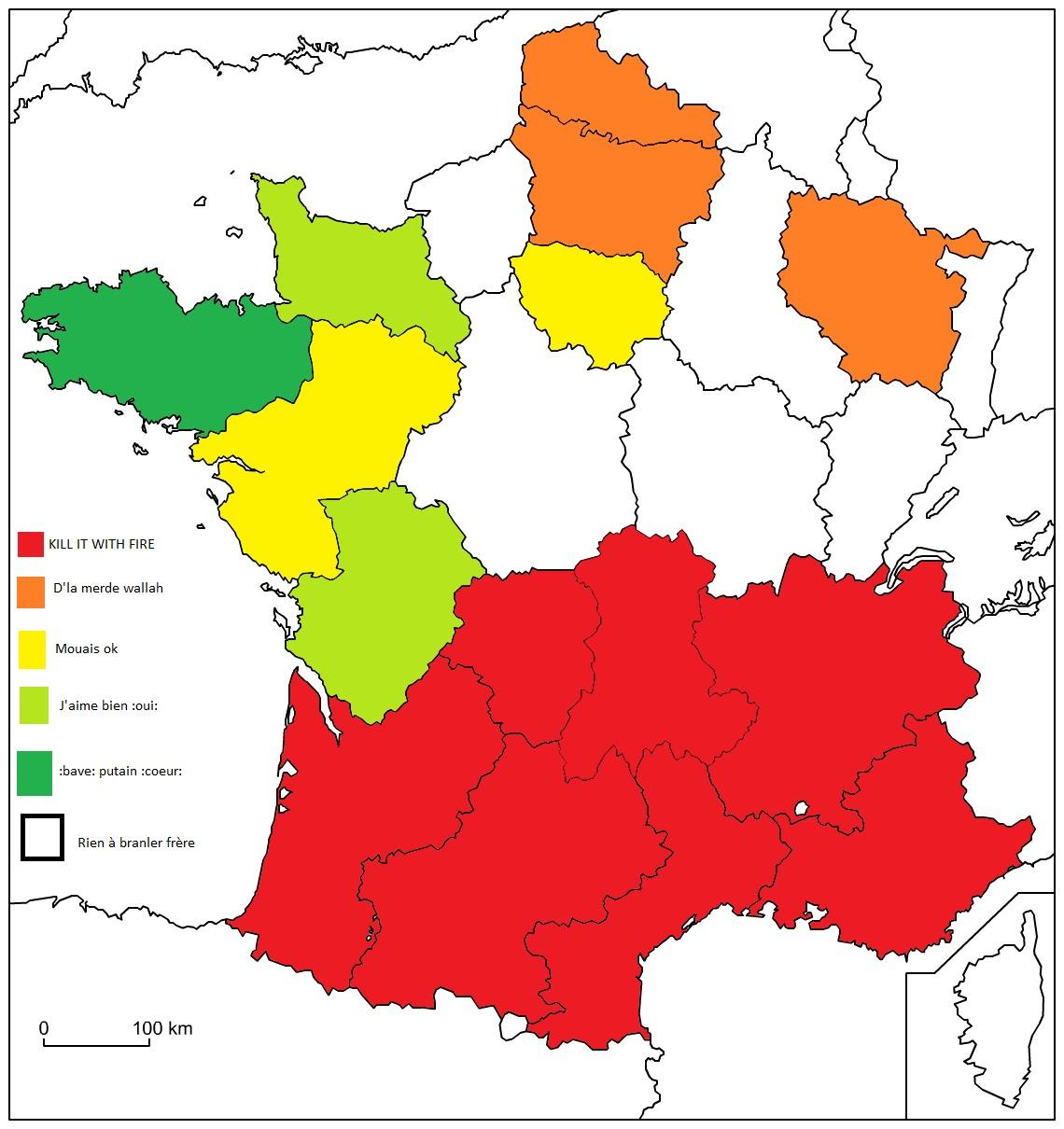 Dessin] Colorier Votre Carte De France :oui: Sur Le Forum tout Coloriage Carte De France