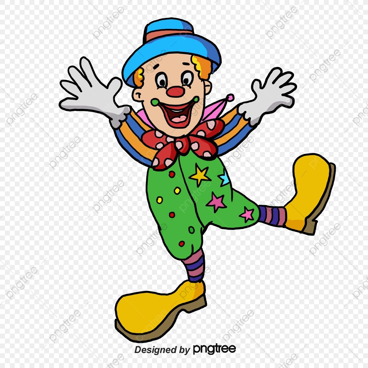 Dessin De Clown, Dessin, Clown, La Joie Fichier Png Et Psd avec Dessin De Clown En Couleur
