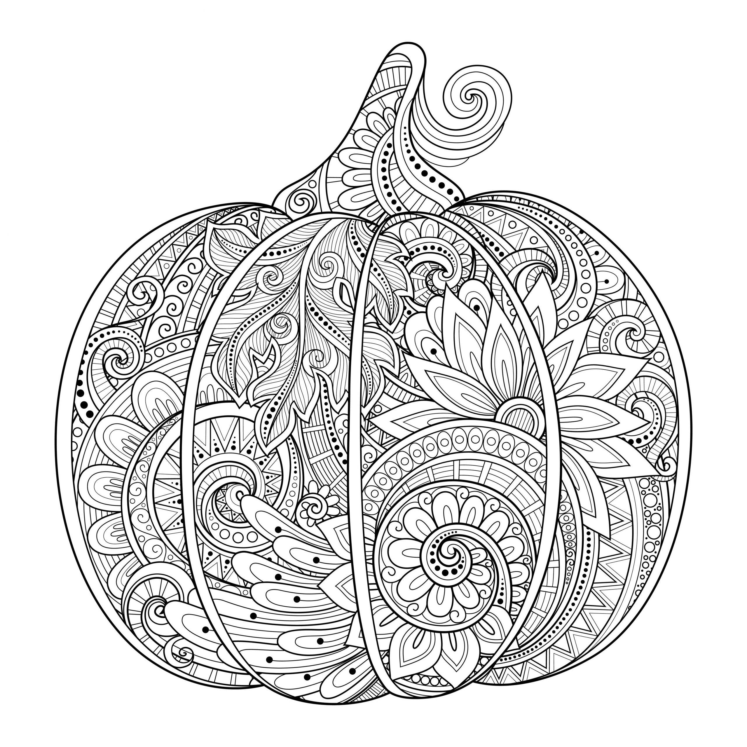 Dessin De Halloween Gratuit À Télécharger Et Colorier destiné Dessin Halloween Citrouille A Imprimer Gratuit
