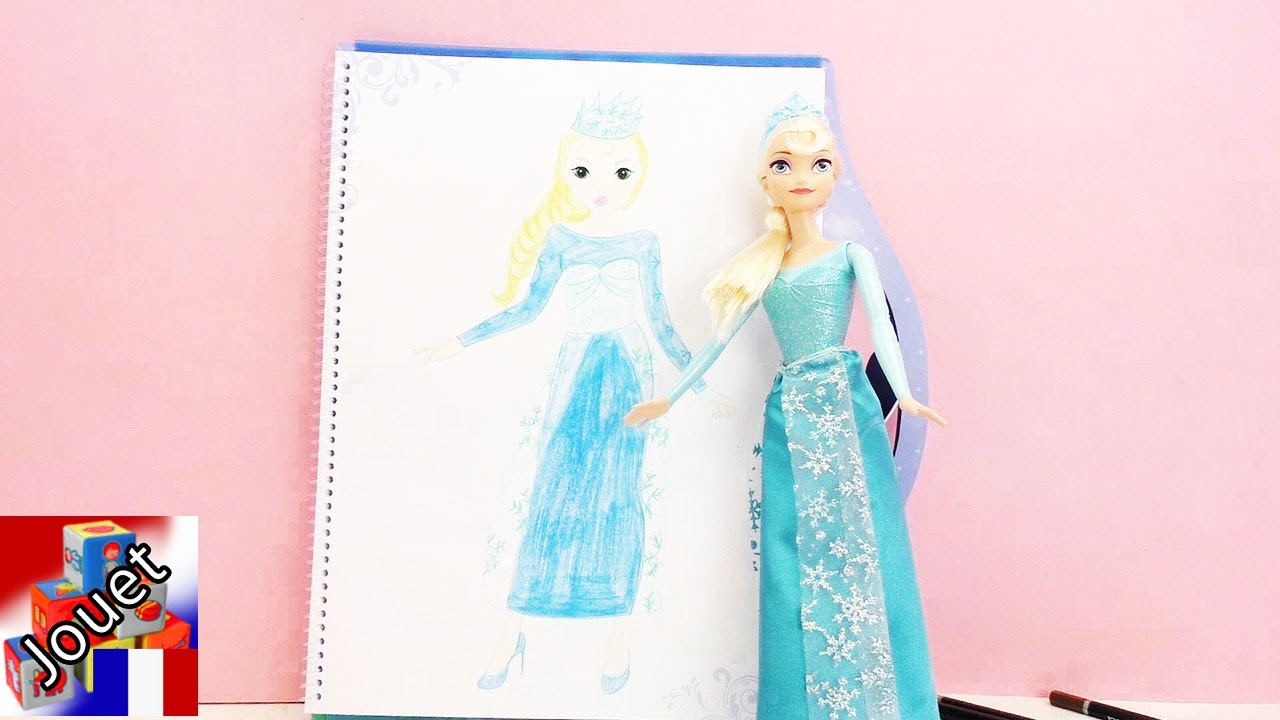 Dessin De La Reine Des Neiges Elsa – Livre De Coloriage Top Model La Reine  Des Neiges Elsa serapportantà Top Model À Colorier