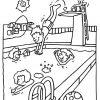 Dessin Groupe Enfants Dans Piscine - Recherche Google dedans Jeux Gratuit De Dessin A Colorier