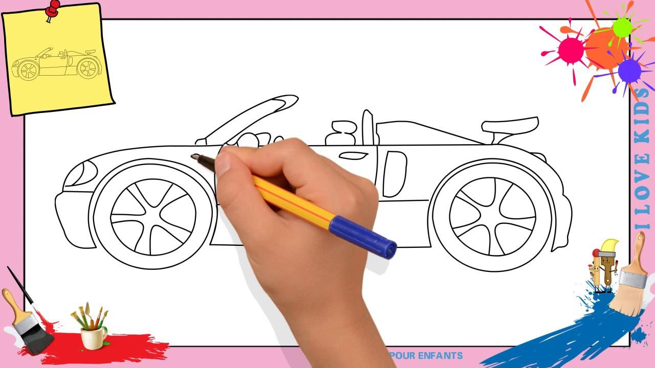 Dessin Voiture Facile 5 - Comment Dessiner Une Voiture Facilement Etape Par  Etape serapportantà Dessiner Une Voiture Facile