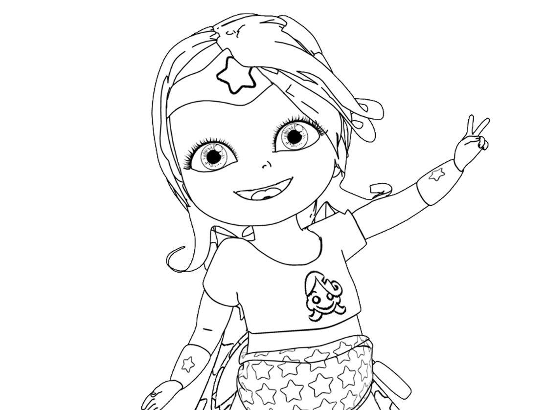 Dessins Gratuits À Colorier - Coloriage Bebe Lilly À Imprimer tout Jeux De Bébé Lilly