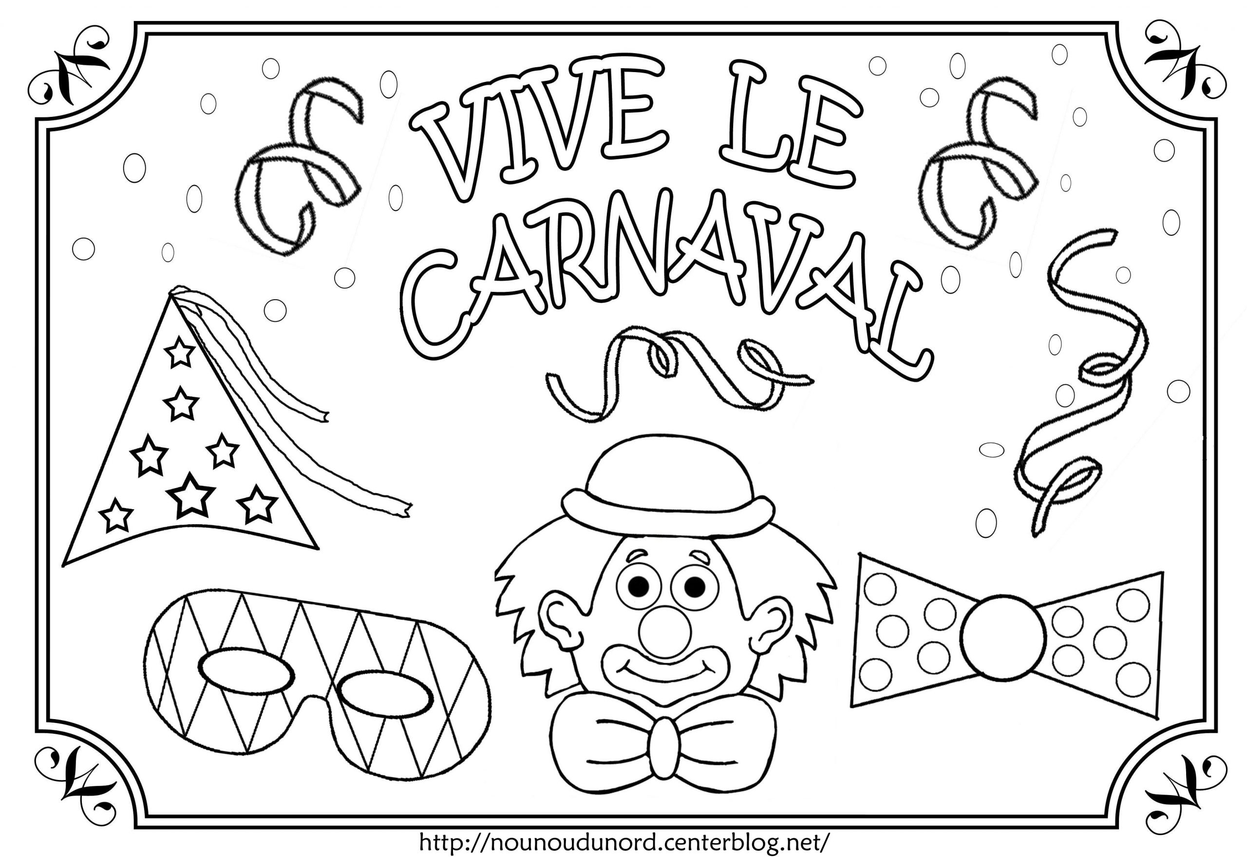Dessins Gratuits À Colorier - Coloriage Carnaval À Imprimer dedans Masque Carnaval Maternelle À Imprimer
