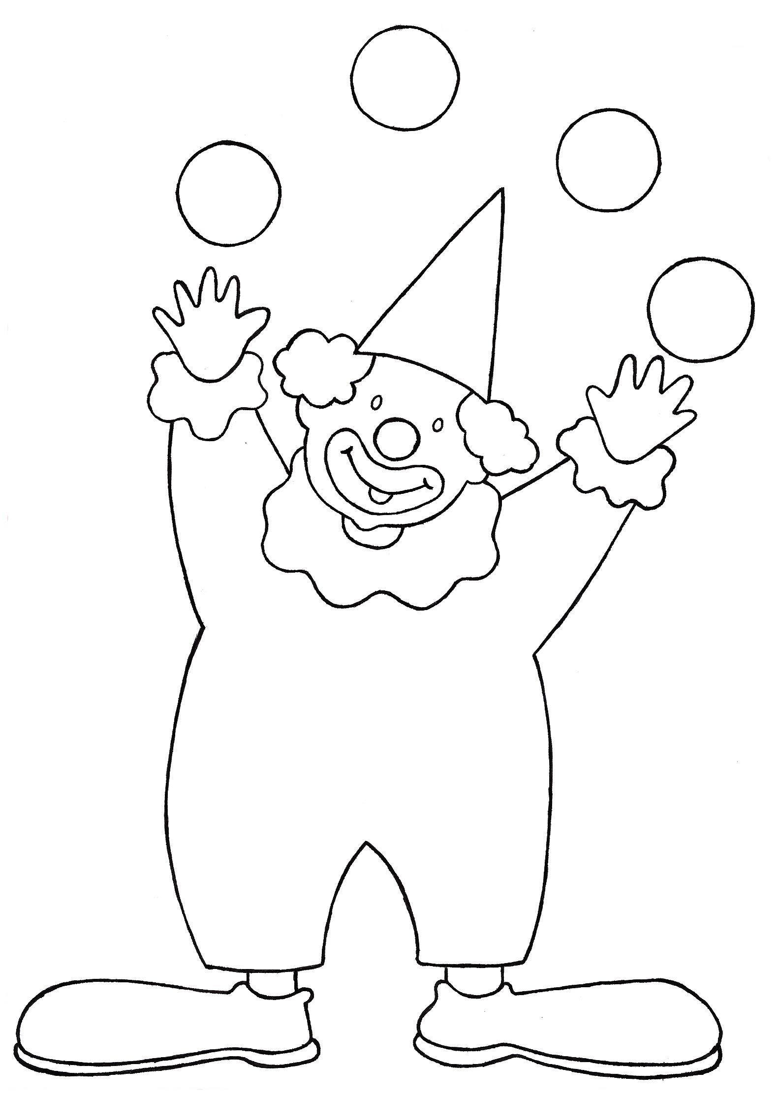 Dessins Gratuits À Colorier - Coloriage Clown À Imprimer concernant Coloriage Clown A Imprimer