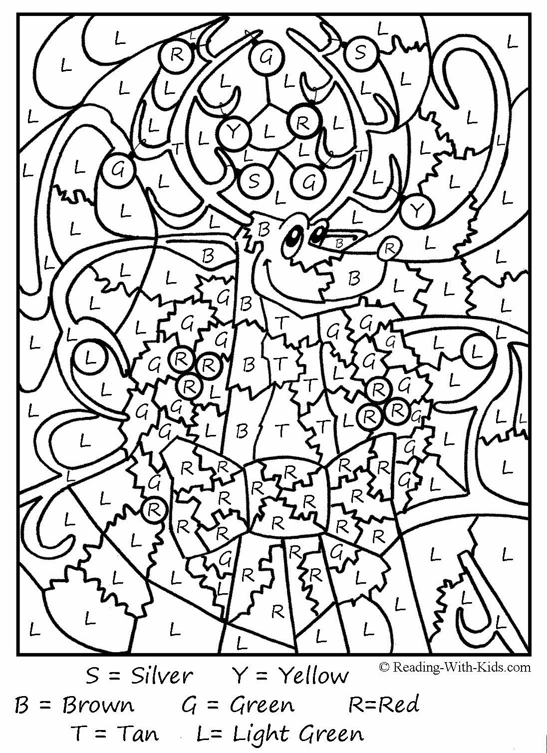 Dessins Gratuits À Colorier - Coloriage Magique Cp À Imprimer avec Coloriage Codé Ce1