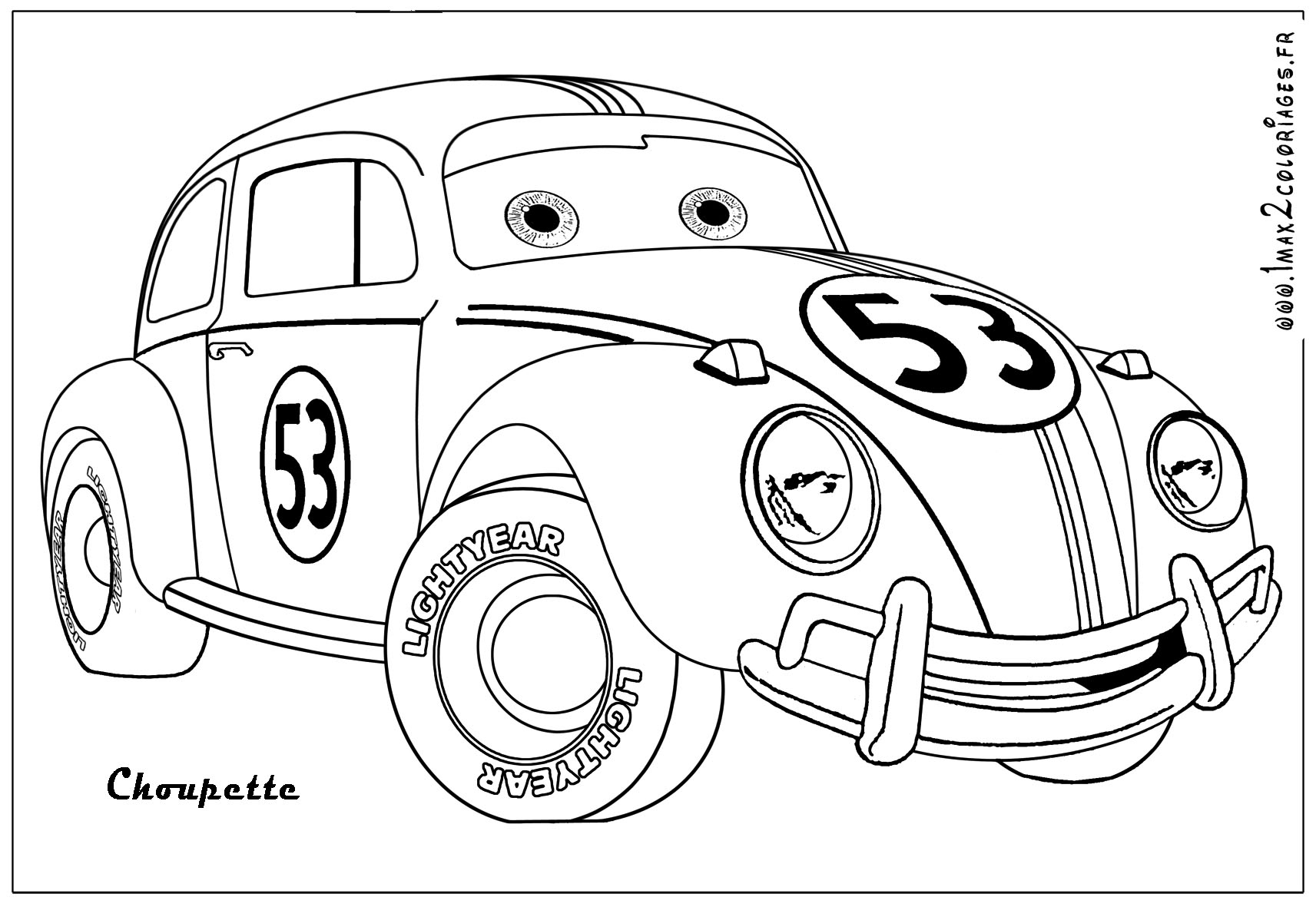 Dessins Gratuits À Colorier - Coloriage Rallye À Imprimer à Coloriage Vehicule
